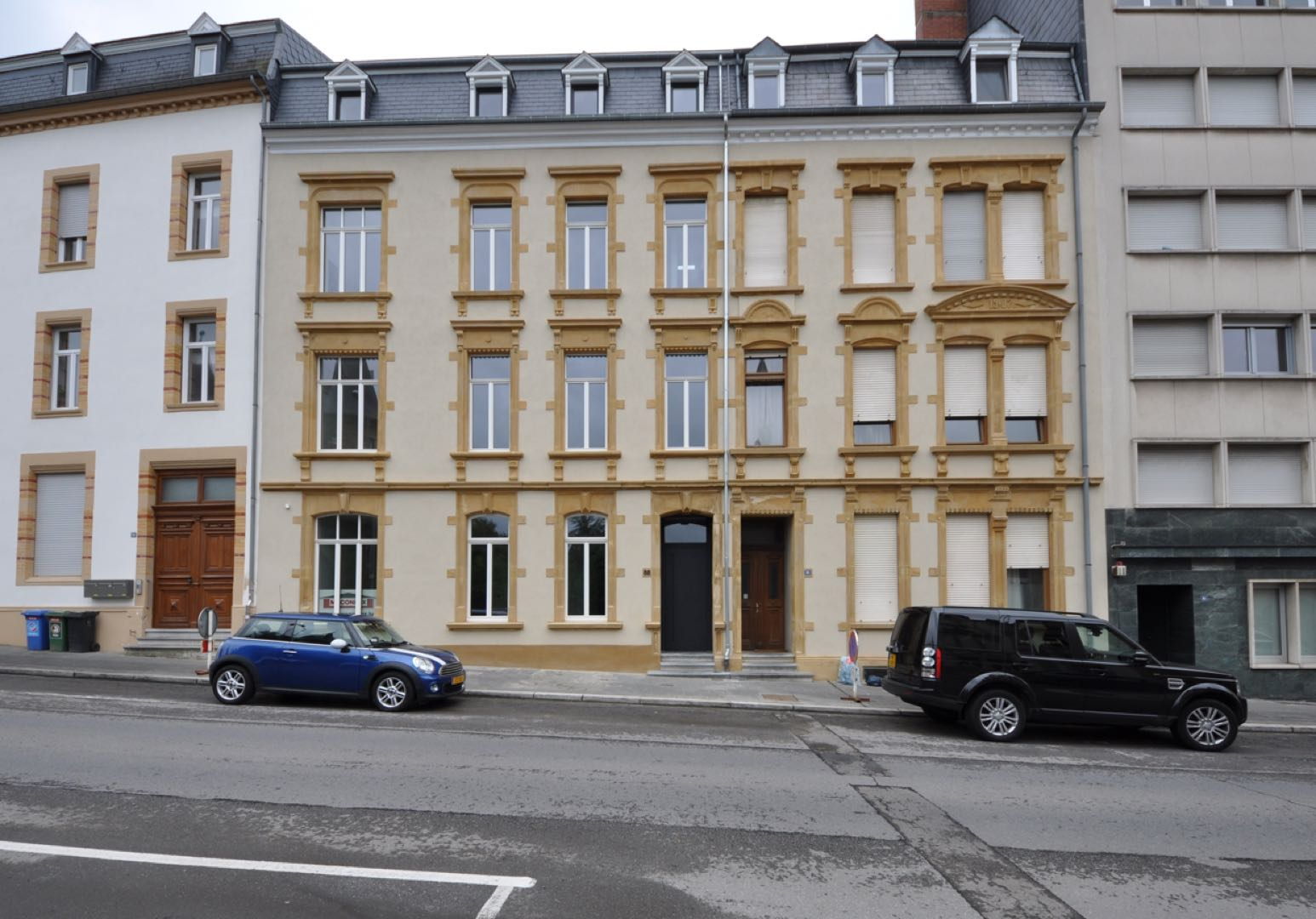 ARCHITEKTENBUERO Stadtvilla in Luxemburg 1