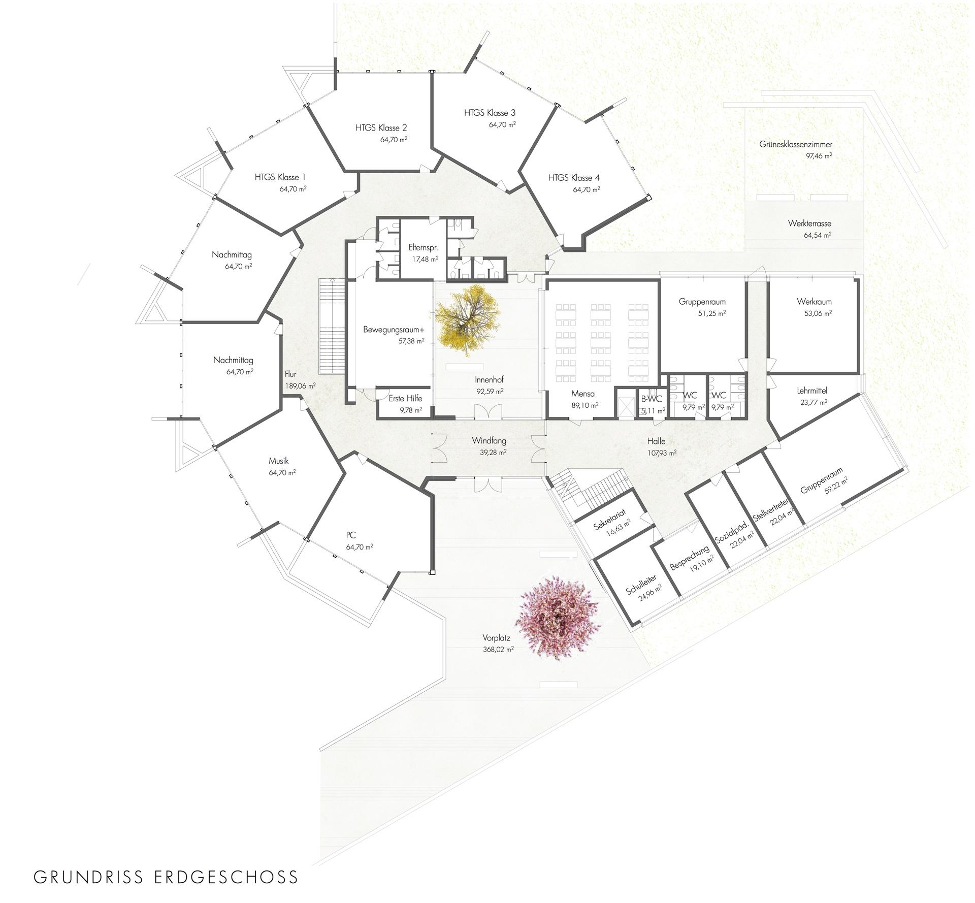 Architektenbuero WB Steinrausch_Grundriss EG